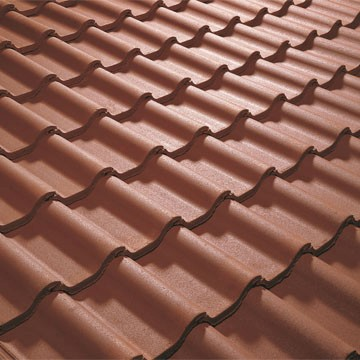 Forticrete Low Pitched Roof Tiles