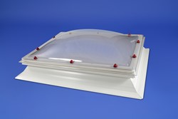 Whitesales Fixed Rectangular Em-Domes
