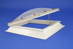 Whitesales Open for Vent Rectangular Em-Domes