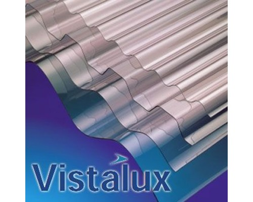 Vistalux Clear Plastic Corrugated Sheeting Extons