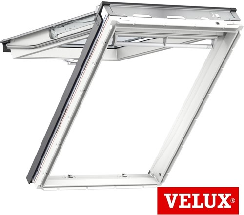 VELUX GPU White Polyurethane Top-Hung Roof Windows