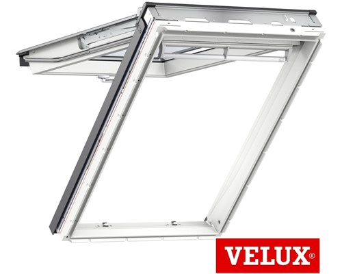 velux gpu white polyurethane top hung roof windows. Black Bedroom Furniture Sets. Home Design Ideas