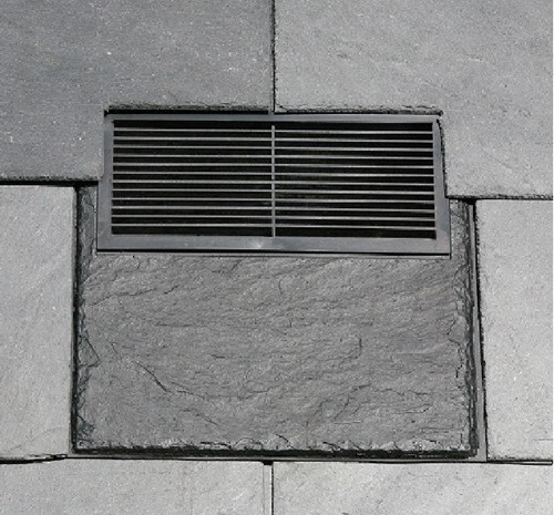 In Line Natural Slate Vent Extons Roofing Supplies