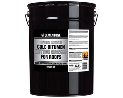 Cold Bitumen Gritting Adhesive For Roofs Extons Roofing