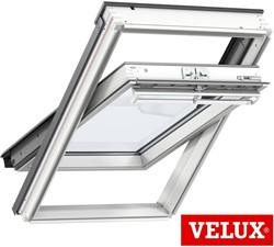 VELUX GGL White Painted Centre-Pivot Roof Windows