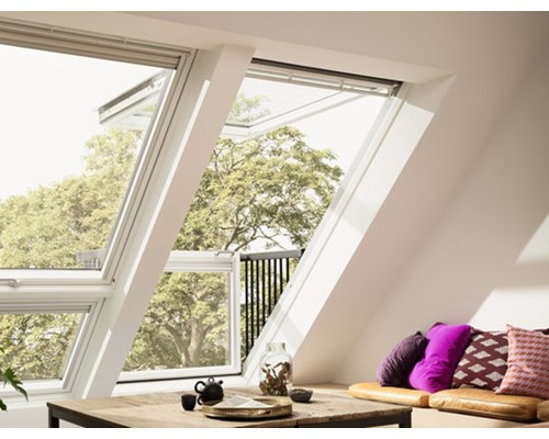 Velux Gpl White Painted Top Hung Roof Windows Extons