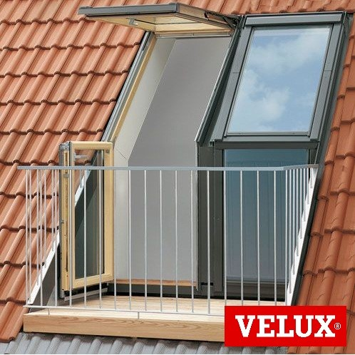 Velux Roof Terrace Cabrio Balcony Extons Roofing Supplies
