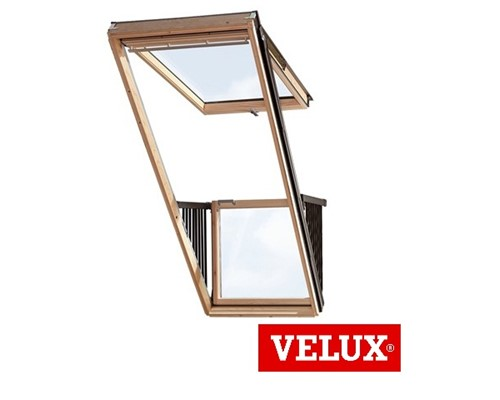 velux gdl cabrio balcony extons roofing supplies. Black Bedroom Furniture Sets. Home Design Ideas