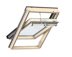 VELUX GGL Pine SOLAR Powered Roof Windows